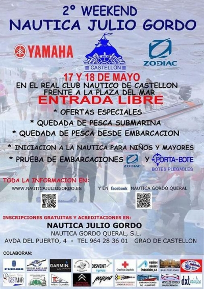 2º WEEKEND NAUTICA JULIO GORDO 2014